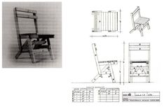 """In 1974, Italian designer Enzo Mari published the first edition of """"Autoprogettazione?"""" (the title might be roughly translated with """"Self-design?""""), a manual which included a number of furniture projects that could be realized by anyone through wooden boards and simple tools, basically a hammer..."""