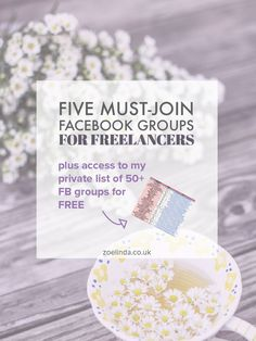Five Must-Join Facebook Groups For Freelancers | Living the solopreneur life can…