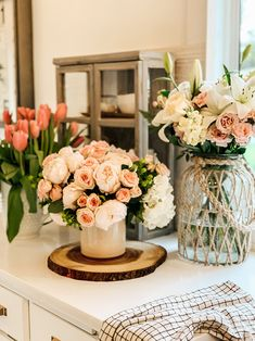 5 Tips to Make Faux Flowers Look Real – Hallstrom Home, Diy Abschnitt, Peony Flower Arrangements, Artificial Flower Arrangements, Beautiful Flower Arrangements, Artificial Flowers, Fake Flowers, Diy Flowers, Fresh Flowers, Spring Flowers, Flower Crafts