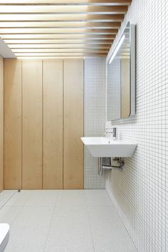 top lit bathroom - apartment refurb - Pamplona, Navarre, Spain - Iñigo Beguiristain