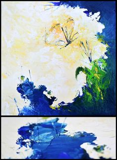 Oil painting - light vs darkness