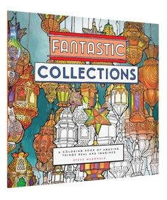 Fantastic Collections, a coloring book by Steve McDonald