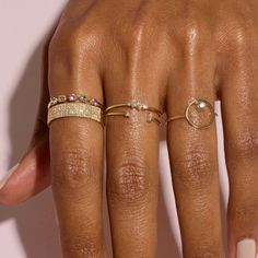 You might be here to find the simple metal bands you can wear on the daily, or for rings more precious. Things Under A Microscope, Cigar Band, Cute Jewelry, Jewlery, Hand Jewelry, Jewelry Ideas, Jewelry Rings, Accesorios Casual, Expensive Jewelry