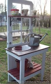 diy potting bench - Google Search