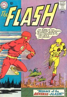 The Flash - Vol 1 - 1963 DC Comics - Reverse-Flash / Professor Zoom