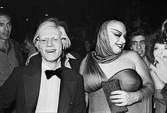 One night at studio 54 : Andy Warhol & Divine