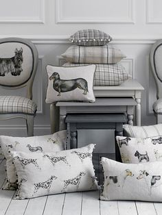 Dogs - Country - Voyage Maison cushions
