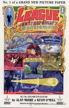 THE LEAGUE OF EXTRAORDINARY GENTLEMEN, SERIE LTDA. COMPLETA DE 6 NÚMEROS, ABC-DC COMICS, 1.999. USA