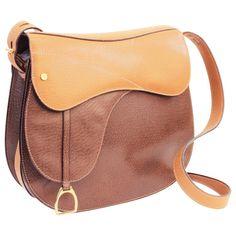 a11420548a244a Gucci Equestrian Pigskin Leather Stirrup Charm Vintage Saddle Bag, 1980s