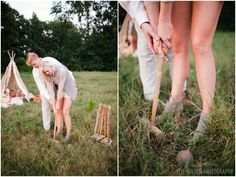 We think of it all! Love this set of vintage croquet clubs! How fun!! Event design by missmillys.com for The 1st Athens #NotWedding: Save the Date;Concept + Photography: Elle Golden Photography | Models: Katie + Andrew Rasmussen | Set Design + Rentals: Miss Milly's | Hair Stylist: Kayla Echols of Head Games Salon | Makeup Artist: Cat Cantrell | Flower crown + bouquet: Murson Designs | Clothing Boutique: B.loved | Stationery: Natty Michelle Paperie | Coordination: Taylor Larson Group