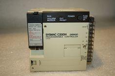 OMRON C200H-CPU03-E2 CPU PWR SUPPLY W/ MEMORY C200H-MR831 *USED* #Omron