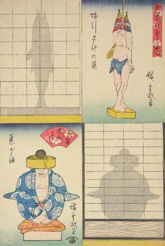 Les jeux d'ombres d'Hiroshige