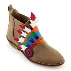 Stella McCartney Kids - Boots d'indien caramel - 52142