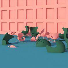 Surreal Pink Scenes by Lee Sol – Fubiz Media