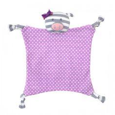 Spearmint LOVE - Apple Park Organic Security Blanket, Penny the Pig