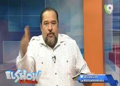Rafel Ventura Manda un fuego en el Show del Mediodía