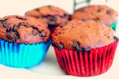Pocket Trinkets: Chocolate Chip and Raspberry Muffins