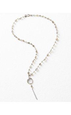Chan Luu Crystal Pendant Necklace