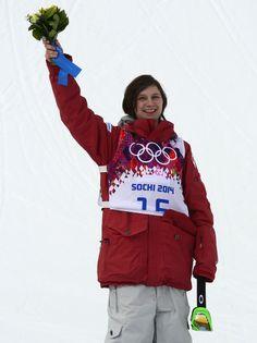 JO Sotchi - 11 février 2014 - La Québécoise Kim Lamarre a décroché la médaille de bronze de l'épreuve féminine de ski acrobatique - slopestyle.