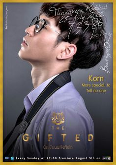The Gifted poster, t-shirt, mouse pad Learn Thai Language, Student Information, Mario Maurer, Mingyu Seventeen, Bright Pictures, Asian Love, Kdrama Actors, Thai Drama, Korn