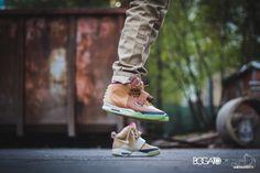 "Nike Air Yeezy 2 - ""Net"" Custom   #AGPOS"
