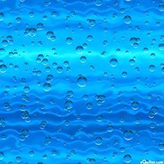 Enchanted Waters - Ascending Bubbles - Pacific Blue