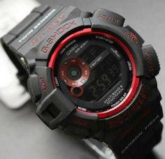 G shock Mudman G9300 Black Red Rp 120.000 SMS ke 085648873164