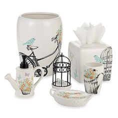 Laura Ashley® Birds and Branches Bath Ensemble at Bed Bath and Beyond