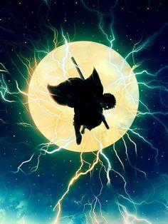 Zenitsu Agatsuma, Demon Slayer: Kimetsu no Yaiba, copyright / 我妻善逸 - pixiv Manga Anime, Art Anime, Anime Kunst, Anime Angel, Anime Demon, Demon Slayer, Slayer Anime, Sword Art Online, Online Art