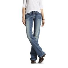 Women's R. Mid Rise Stretch Whipstitch Boot Cut Jeans in Rainstorm, size 34 by Ariat Women's R. Mid Rise Stretch Whipstitch Boot Cut Jeans in Rainstorm, size 34 by Ariat Heels Outfits, Jean Outfits, Casual Outfits, Cute Outfits, All Jeans, Jeans And Boots, Women's Jeans, Denim Boots, Best Jeans For Women