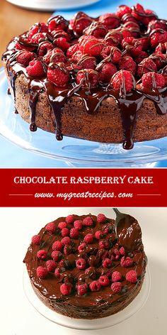 Chocolate Raspberry Cake Recipe..