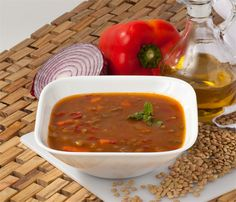 Mediterranean Lentile Soup Appetizers - Traditional Persian Appetizers - Healthy Appetizers