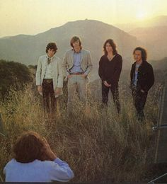 In 1968, Paul Ferrara took the doors up to Luaral Canyon to photograph them for their upcoming album, Waiting For The Sun.  https://www.thedoors.com/news/waiting-sun-cover-photo-shoot-1892