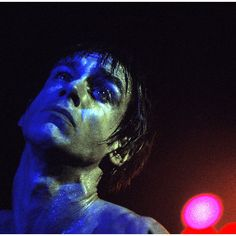 Blue Iggy Pop.