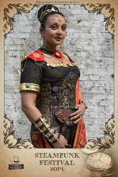indian multicultural steampunk