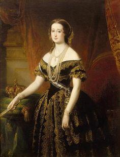 Impératrice Eugénie en 1854 - Eugénie de Montijo