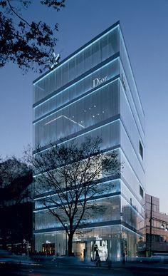 Kazuyo Sejima + Ryue Nishizawa Christian Dior Omotesando 5-9-11 Jingumae…