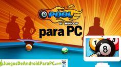 Como jugar 8 ball pool para pc 8 Pool, Android, Pool Games, Pool Table, Club America