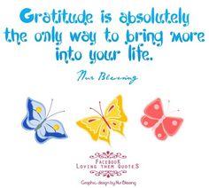 Gratitude quote via Loving Them Quotes page on Facebook