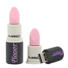 Sunworld Cute Lipstick 16GB USB 2.0 Flash Drive Memory Thumb Stick Data Storage Device Pink
