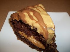 World Class Cooking: Chocolate Mayonnaise Cake with Buttermilk Peanut Butter Frosting