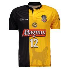 Camisa Magnus Futsal I 2017 N° 12 Falcão Somente na FutFanatics você compra  agora Camisa 415f4716e529b