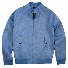 Harry Jacket in Blue | Lords of Harlech | Wolf & Badger / Men / Clothing / Jackets