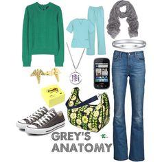 """Grey's Anatomy"" by kerogenki on Polyvore"