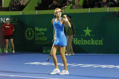 Ana Ivanovic avanzó a las Semifinales del @Abierto Monterrey  (05/04/14) Foto: @Edgar Montelongo