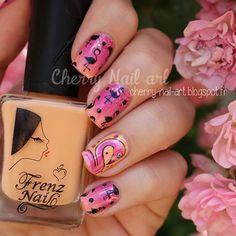 Instagram Cherry Nail Art, Renz, Nail Polish, Instagram Posts, Nail Polishes, Polish, Manicure, Nail Polish Colors