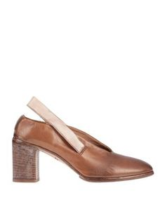 Leather No appliqués Solid color Round toeline Square heel Wooden heel Leather lining Leather/rubber sole Contains non-textile parts of animal origin Laminated effect Large sized Women's Pumps, Heels, Moma Shoes, Soft Leather, Bag Accessories, Footwear, Brown, Shopping, Fashion