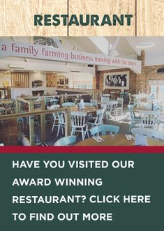 Love our farm shop? Have you visited our award-winning restaurant? Selling Eggs, Farm Shop, Fresh Bread, Sainsburys, Shop Local, Looking Forward To Seeing, Birmingham, Over The Years, How To Find Out