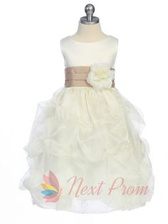 white flower girl dress with black sash,flower girl dress tulle,flower girl dress white $62.00