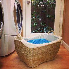Wicker Laundry basket / Kouboo